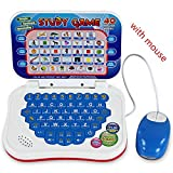 BabyGo Learn English Machine Kids Laptop Computer with Mouse Toy Education Baby Children