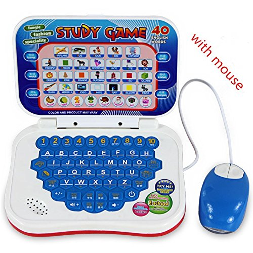 BabyGo Learn English Machine Kids Laptop Computer with Mouse Toy Education Baby Children Gift