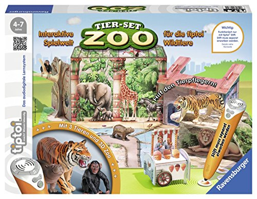 Ravensburger-00732-Tiptoi-Tier-Set-Zoo