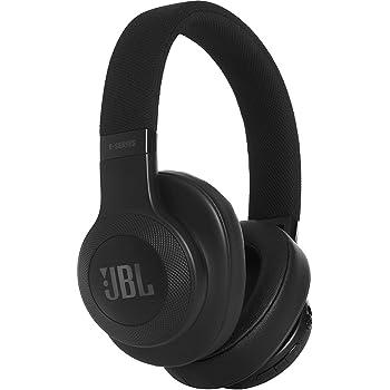 jbl e45bt casque supra auriculaires sans fil bluetooth avec commande microphone noir. Black Bedroom Furniture Sets. Home Design Ideas