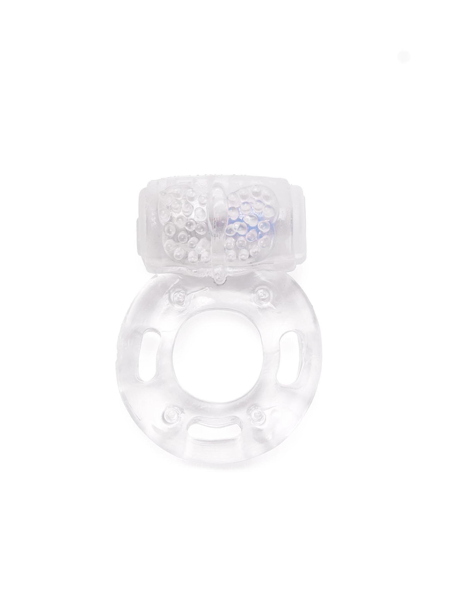 Ann Summers Thick Vibrating Cock Ring (Up), Clear