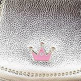 Happy Cherry Kleines Mädchen Tasche Kinder Umhängetasche Mode Frauen Schultertasche PU Leder Handtasche Mit Kaiserkrone Verstellbarer Schultergurt Taschen Kindertasche Girls Bag 16 * 6 * 12cm – Gold - 5