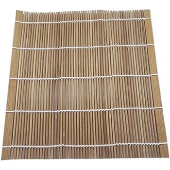 Sushimatte Sushi Matte Bambus 24 X 24 Cm Yoaxia Amazon De
