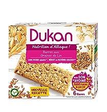 Dukan Barres de Son d'Avoine aux Graines de Lin 150 g