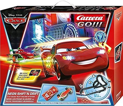 Carrera Drift 20062332–Go Disney/Pixar Neon Shift 'n Play Tracks