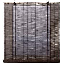 estores basic enrollable bamb natural wengu - Estores De Bambu