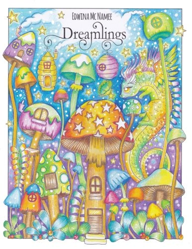 Dreamlings: A magical coloring book
