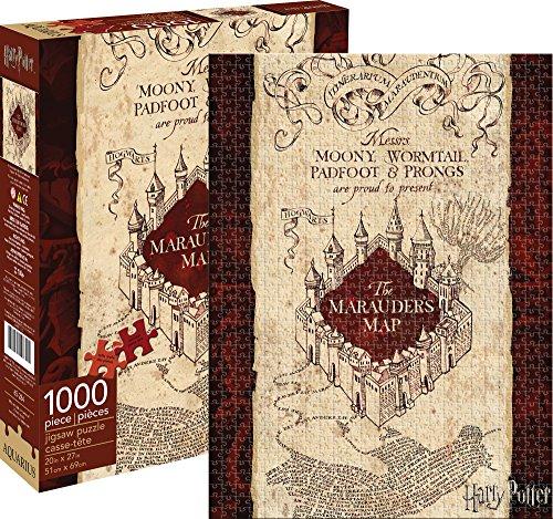 Aquarius-Harry Potter Marauders Mapa Puzzle 1000Piece