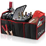 Delex Car Boot Organizer Storage Tidy Auto Organization and Boot Maintenance Foldable Trunk Storage Box with Cooler…