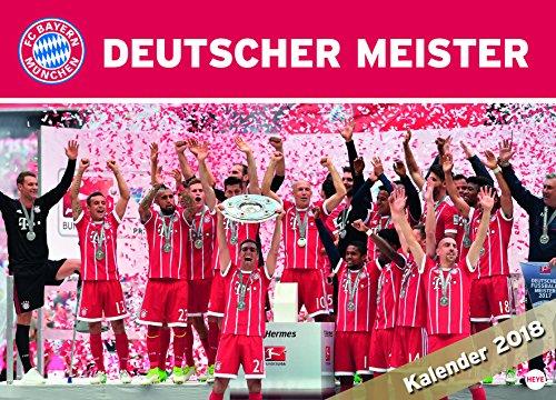 Preisvergleich Produktbild FC Bayern München Edition - Kalender 2018