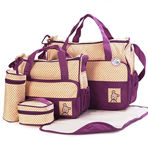 Babyhugs Wickeltaschen Set, mit speziellem Taschen-Organizer, 6-teilig