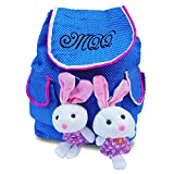 #8: Zomaark Stylish Printed with cutie teddy Casual Shoulder Bag Girls College Backpack