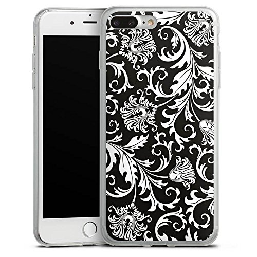 Apple iPhone X Slim Case Silikon Hülle Schutzhülle Ornamente Mandala Muster Silikon Slim Case transparent