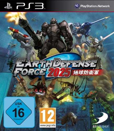 Earth Defense Force 2025 - [PlayStation 3]