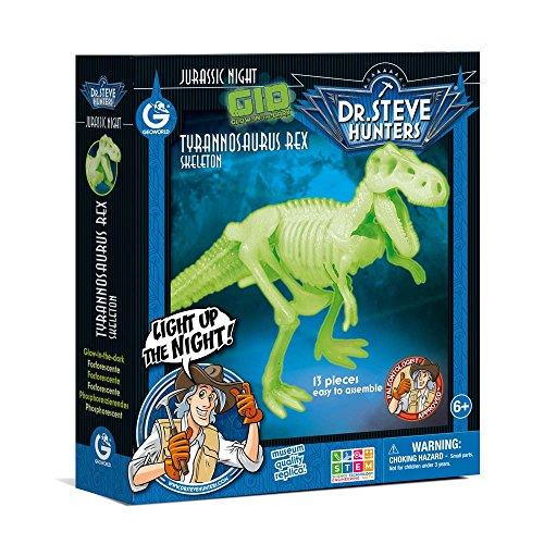 Dr. Steve Hunters cl1651K-Spiel Jurassic Night Glow in The Dark Tyrannosaurus Rex