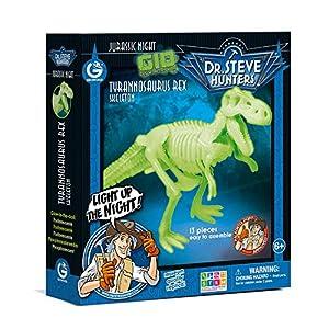 Dr. Steve Hunters cl1651K-Juegos Jurassic Night Glow in The Dark Tyrannosaurus Rex