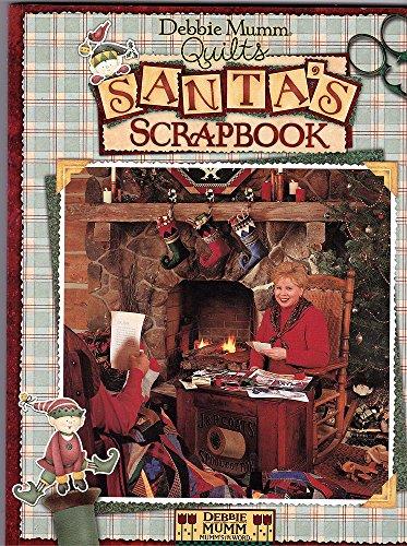 Debbie Mumm quilts Santa's scrapbook
