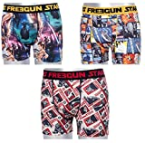 FREEGUN Lot 3 Boxers Enfant Star Wars 8-10 ans