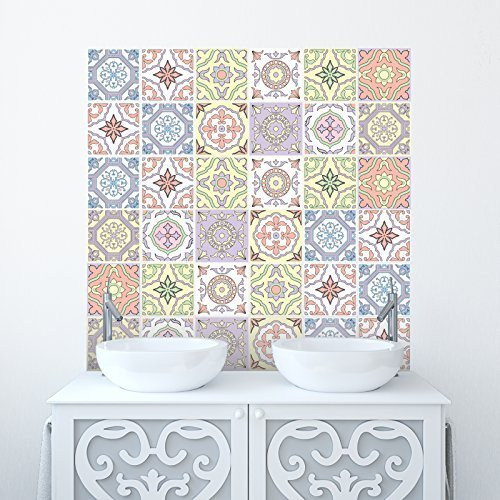 Traditional Tile Stickers Transf...