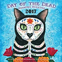 Day of the Dead Meowing Muertos 2017 Calendar - America Del Wall Calendar