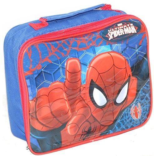 Boite a goûter + Gourde + Sac enfant Garcon Spiderman Marvel
