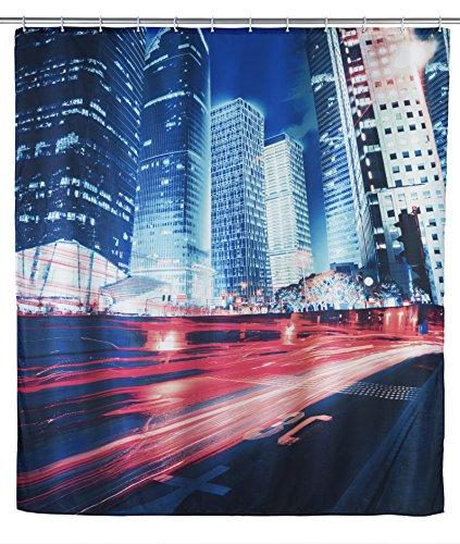 Wenko Duschvorhang Downtown 180 cm x 200 cm