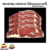 4 chuletas de carne roja con hueso CAMPOSVALLES selección x 0,600 gr. aprox/ud. Envío 24h.