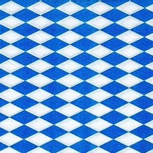 Papstar Servietten/Tissueservietten bayrisch blau
