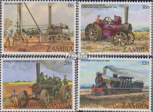 Prophila Collection Sambia 282-285 (kompl.Ausg.) 1983 Dampfmaschinen (Briefmarken für Sammler) Eisenbahn