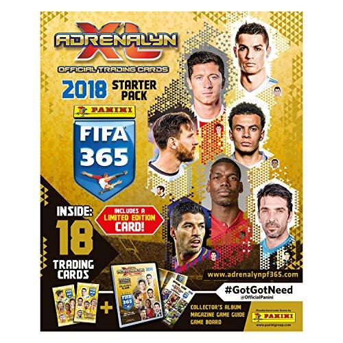 Unbekannt FIFA 365Adrenalyn XL 2018Trading Card Collection