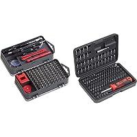 Meister Feinmechaniker-Set 108-teilig - Reparatur-Set für Smartphones, Tablets, PCs, Modellbau & Repair-Tool-Kit & Bit…