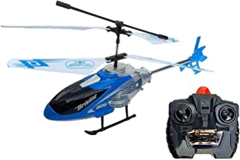 J K INTERNATIONAL Velocity Mini Remote Control Toy Helicopter|Easy to Fly & Control (Built-in INFRARED CONTROL)Helicopter For Boys|Flying Helicopter With LED lights|Metal body Frame Of Helicopter|360 Operation Helicopter Gift for Kids|Long Flying Range Of Helicopter|Powerful Engines toy Helicopter|Best Helicopter For Kids Birthday Gift| Best Helicopter Toy For Kids- BLUE