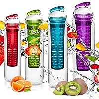 4 borracce da 800ml per bevande a base di frutta