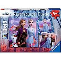 Ravensburger 05011- Puzzles 3x49 pièces La Reine des Neiges 2 Enfant