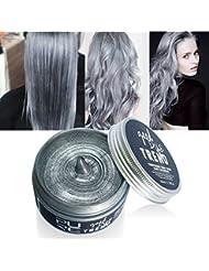 OYOTRIC Cire de cire de teinture de cheveux de couleur temporaire de cheveux de boue de cheveux pour la partie...