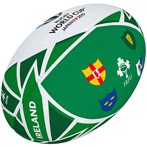 Gilbert Rugby World Cup Japan 2019 Irland Flagge Ball Mini Mehrfarbig