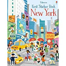 First Sticker Book New York (First Sticker Books)