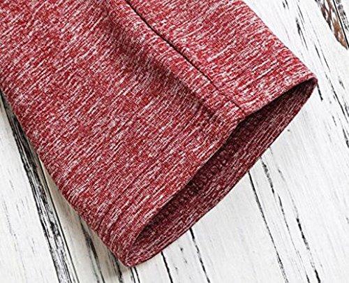 Ibelive - Sweat-shirt - Femme Rouge