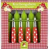 Spiegelburg 10327 Kuchengabeln Fröhliche Tupfen