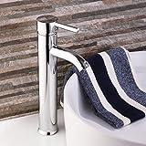Tourmeler Billig Messing Chrom groß Zylinder Badezimmer Badewanne Waschbecken Waschbecken Armatur Armaturen Messing