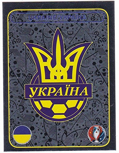 Panini EURO 2016 France - Sticker #236 (Ukraine, Wappen)