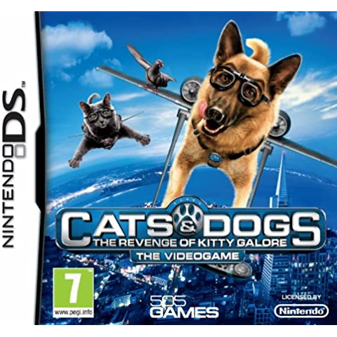 Cats & Dogs: The Revenge of Kitty Galore (Nintendo DS) [Importación inglesa]