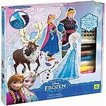 Au SYCOMORE Orb11547 Disney Frozen Dot 'N Jewel de peluche, color azul