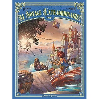 Le Voyage extraordinaire - Tome 04 : Cycle 2 - Les Îles mystérieuses 1/3