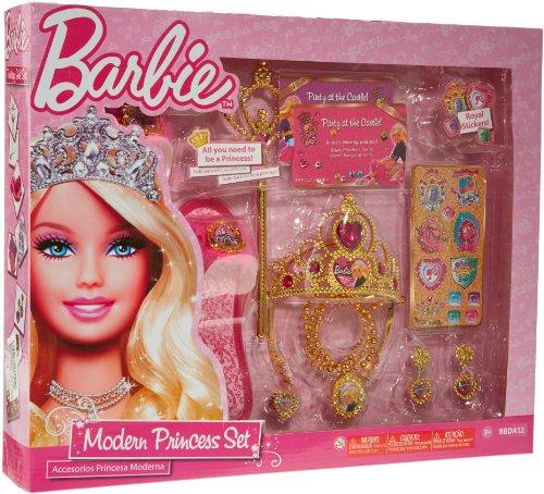 Barbie Prinzessin Kostüm - Barbie BBDA12 - Set - Ich Bin eine Prinzessin, mit viel tollem Zubehör