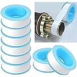 PESCA 10pc Roll Plumbing Plumber Fitting Teflon Tape PTFE for Water Pipe Sealing