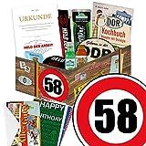 Geschenk Ideen zum 58. für Männer - Ossipaket Männer Box + Geschenkverpackung