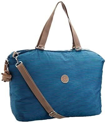 Kipling Women's Go Go Shoulder Bag Blue Striped K12292577