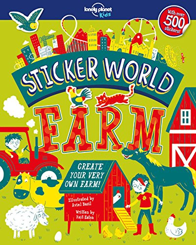 Sticker World Farm Lonely Planet