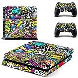 Dekorative Aufkleber für Playstation 4 PS4 auch x Controller Farbig